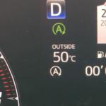【クルマの温度計の最高温度】トヨタ車の外気温計って何度まで?