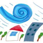 【台風による損害、車両保険はおりるのか?】看板が飛んできて車に傷がついたら?