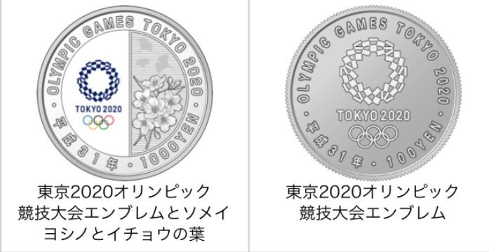 オリンピック 2020 100 発売 円 硬貨 日 東京 記念