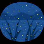 【名古屋城に生息するホタル・日本で唯一、都心でみることのできるスポット】5月下旬から6月上旬のある限られた条件のみ蛍を見ることができる。小型種ヒメボタルが多数乱舞する。