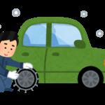 取り付け簡単、使い捨て布製タイヤチェーンがおすすめ